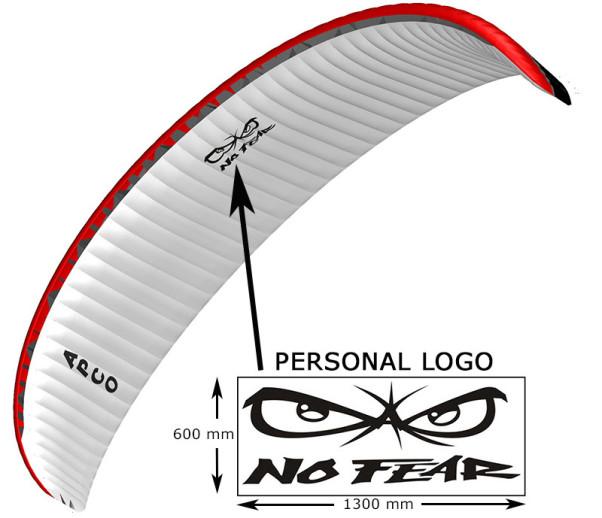 Laser cut paraglider