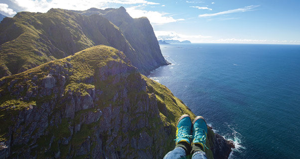 Paragliding in Lofoten Islands
