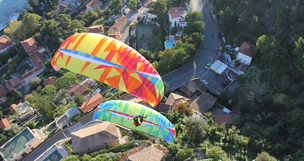 Paragliders and weight range
