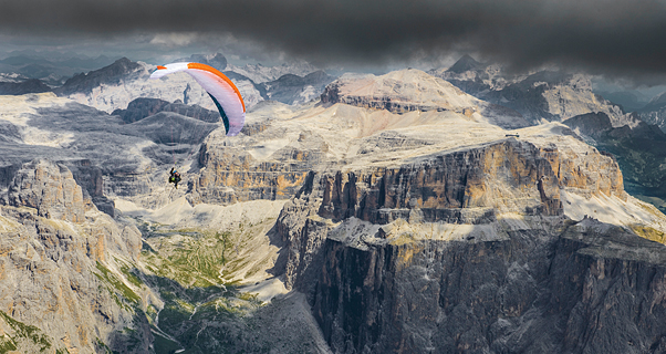 Lightweight paragliding