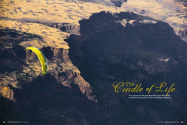 Paragliding Ethiopia