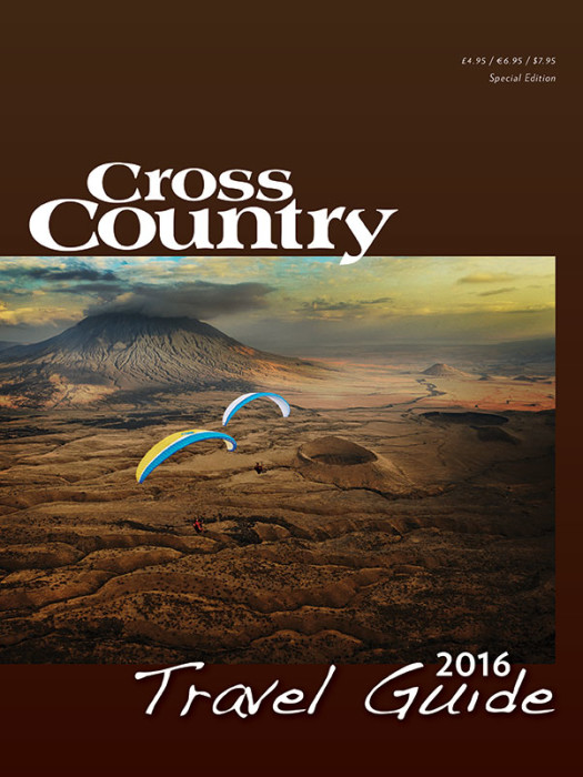 Cross Country Travel Guide 2016 .... The cover shot shows flying in eastern Tanzania and is by Felix Woelk