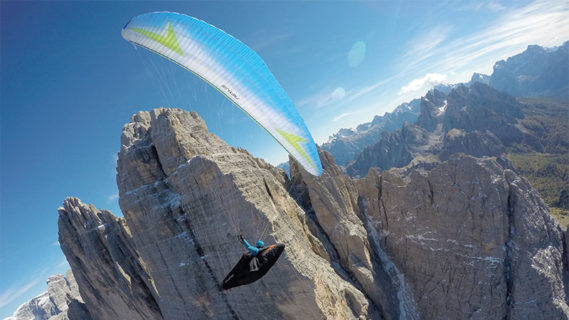 Paragliding psychology