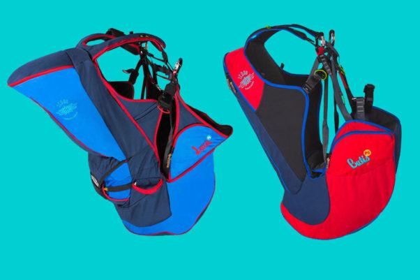 Icaro Loxia and Batis tandem harnesses