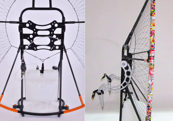 Power2Fly paramotor cage