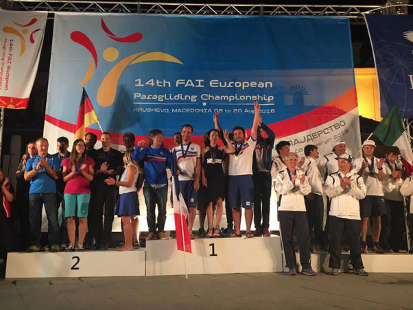 European Paragliding Championships 2016