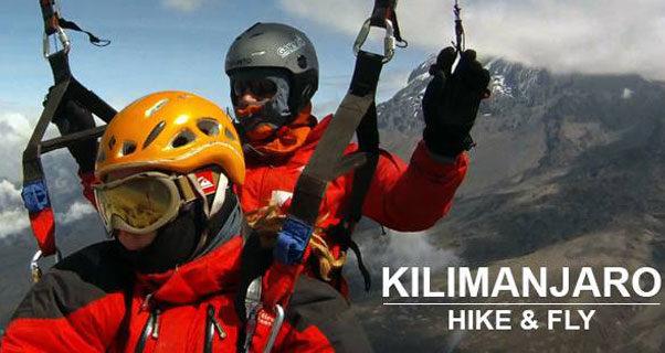Paraglide Kilimanjaro 2016