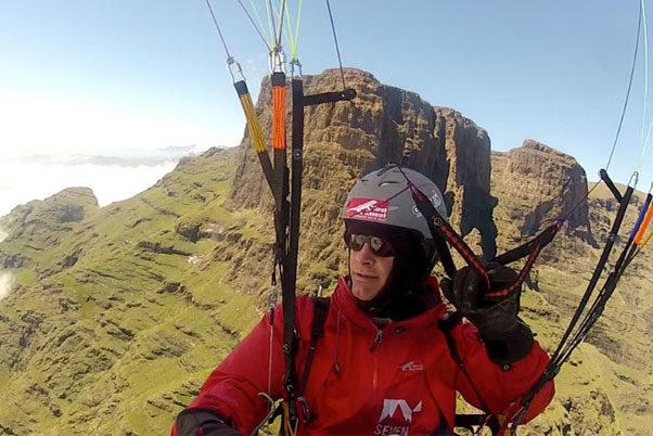 Pierre Carter in the 2013 X-Berg Challenge