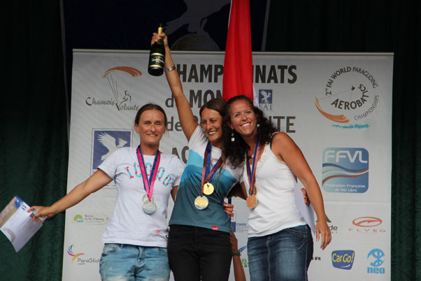 Christina Kolb took gold in the Women's competition. Photo: Joanna Di Grigoli