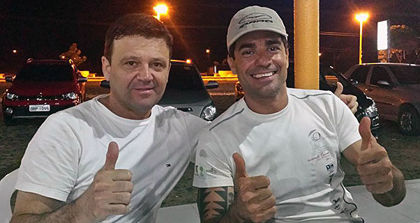 Andre Wolf and Glauco Pinto
