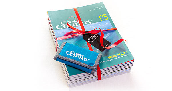Cross Country magazine gift subscription