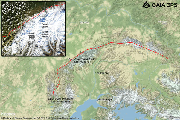 The Alaska Traverse
