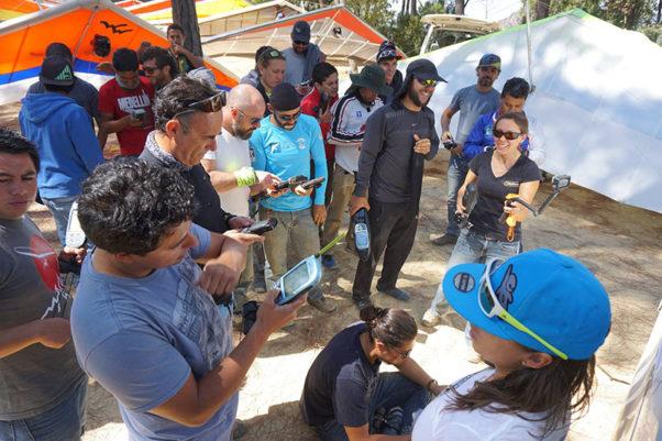 Briefing ... at the El Penon Classic 2017. All photos: Angela / El Penon Classic