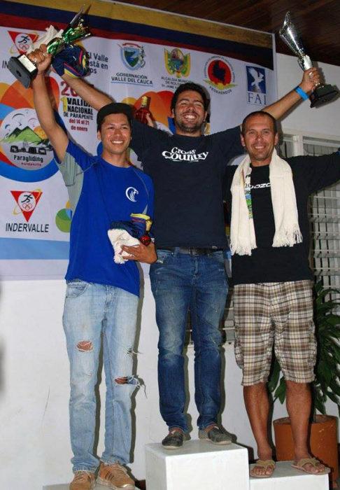 Seb Ospina wins in Roldanillo, Colombia