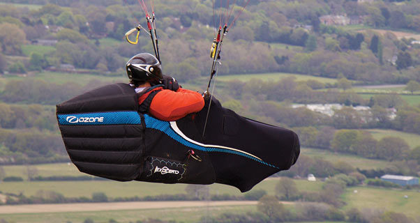 Paragliding and the coffin position