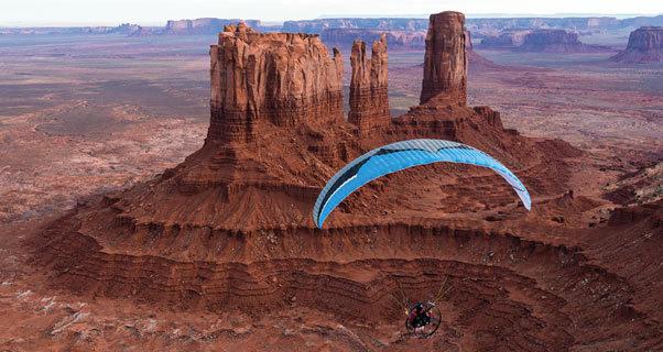 Paramotoring SW USA