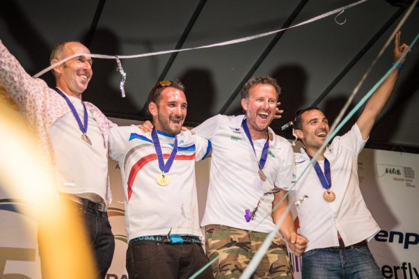 Paragliding World Championships 2017: overall winners