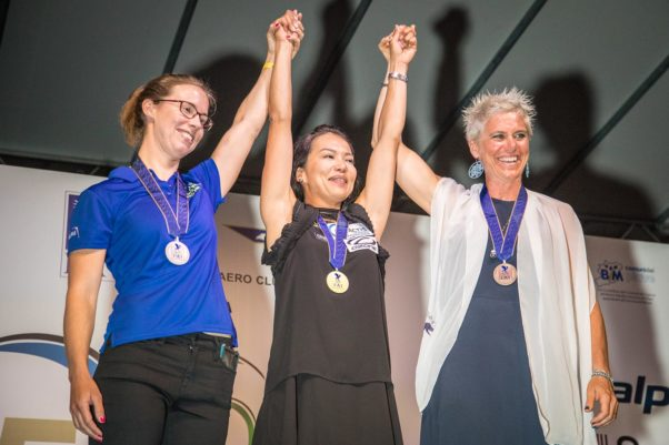 Paragliding World Championships 2017: women's class winners