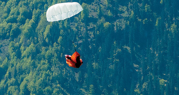 How to buy a reserve parachute for paragliding