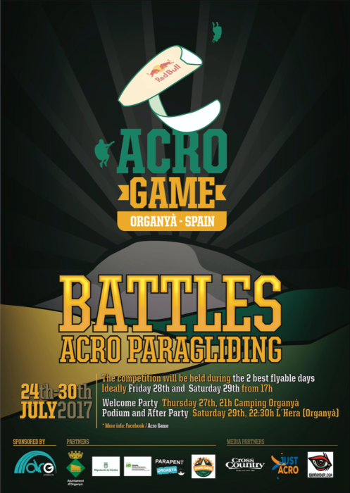 Acro Game poster 2017