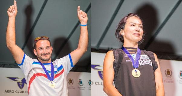 Paragliding World Champions 2017: Pierre Rémy and Seiko Fukuoka Naville