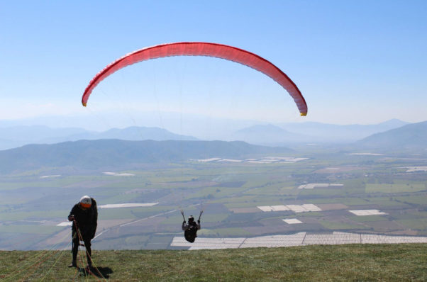 Paragliding in Jalisco