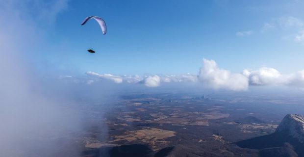 Paragliding in Quixada with Kiwi Johnston