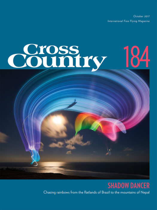 Cross Country 184, October 2017, Little Cloud cover image by Serge Shakuto