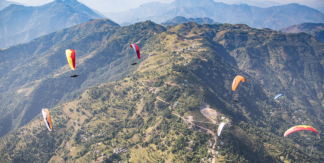 Paraglider pilot missing in Pokhara after tragic accident | Cross
