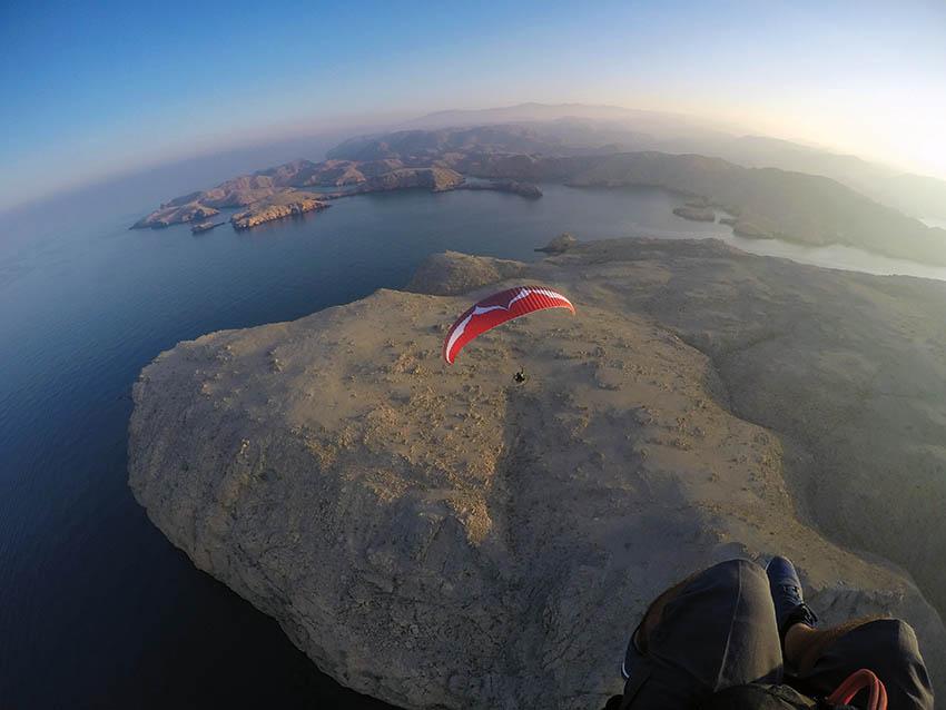 Paramotoring in Oman