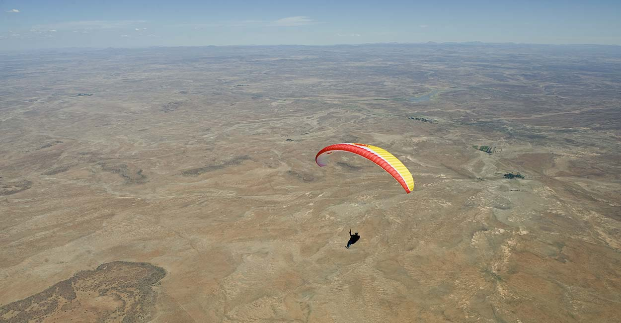 Copperton-Paragliding