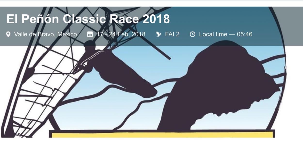 El Peñón Classic 2018 Classic Race 2018 (HG) @ Valle de Bravo | State of Mexico | Mexico