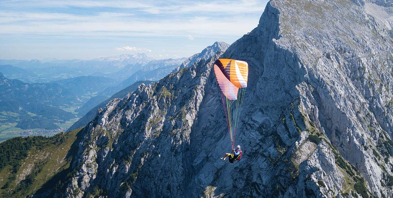 Hike and fly Hoher Goll. Photo: Paul Guschlbauer