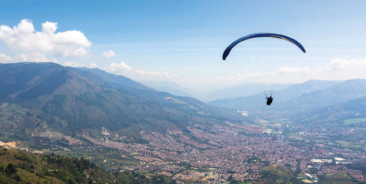 Medellin, Colombia. Photo: Ruben Montoya