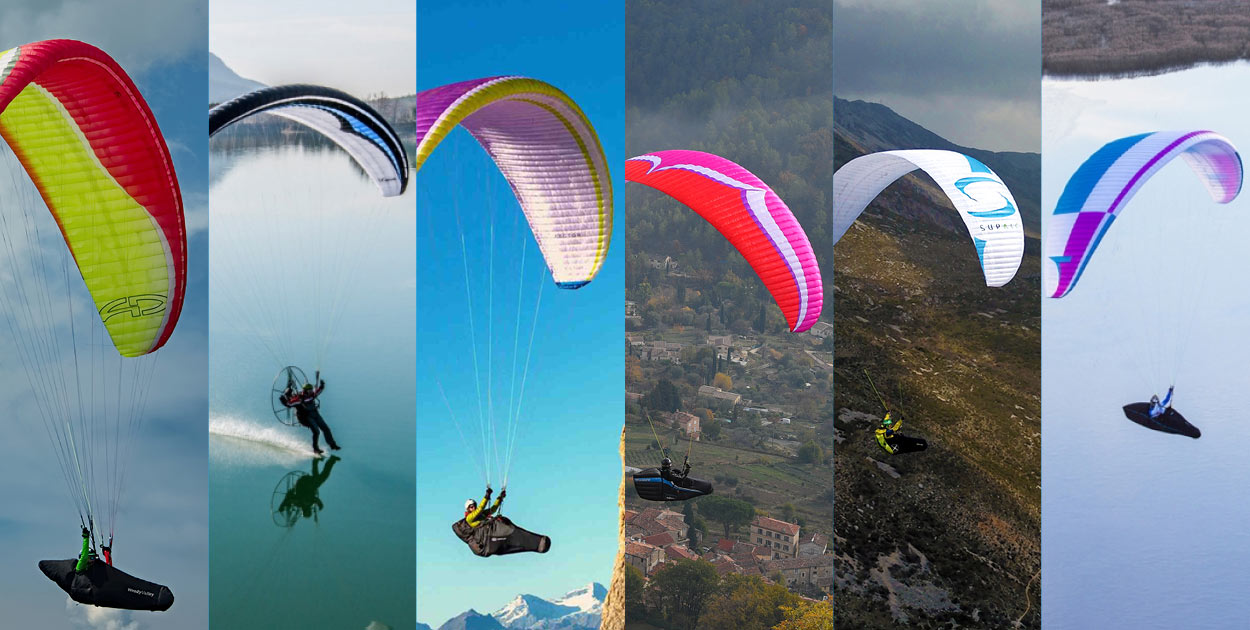 Win a paraglider in the Cross Country Prize Draw 2018