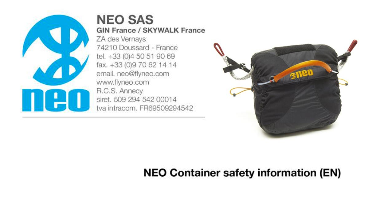 Neo safety notice