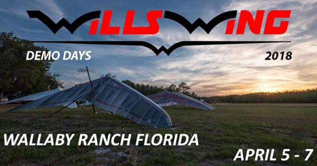 Wills Wing Demo Days, Florida @ Davenport | Florida | United States