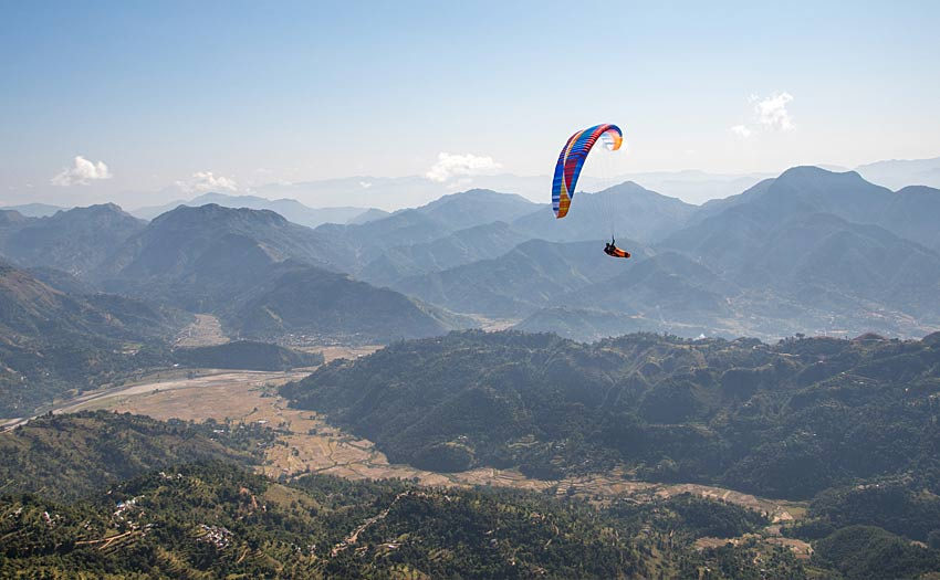 BGD at the Paragliding Open in Nepal, November 2018