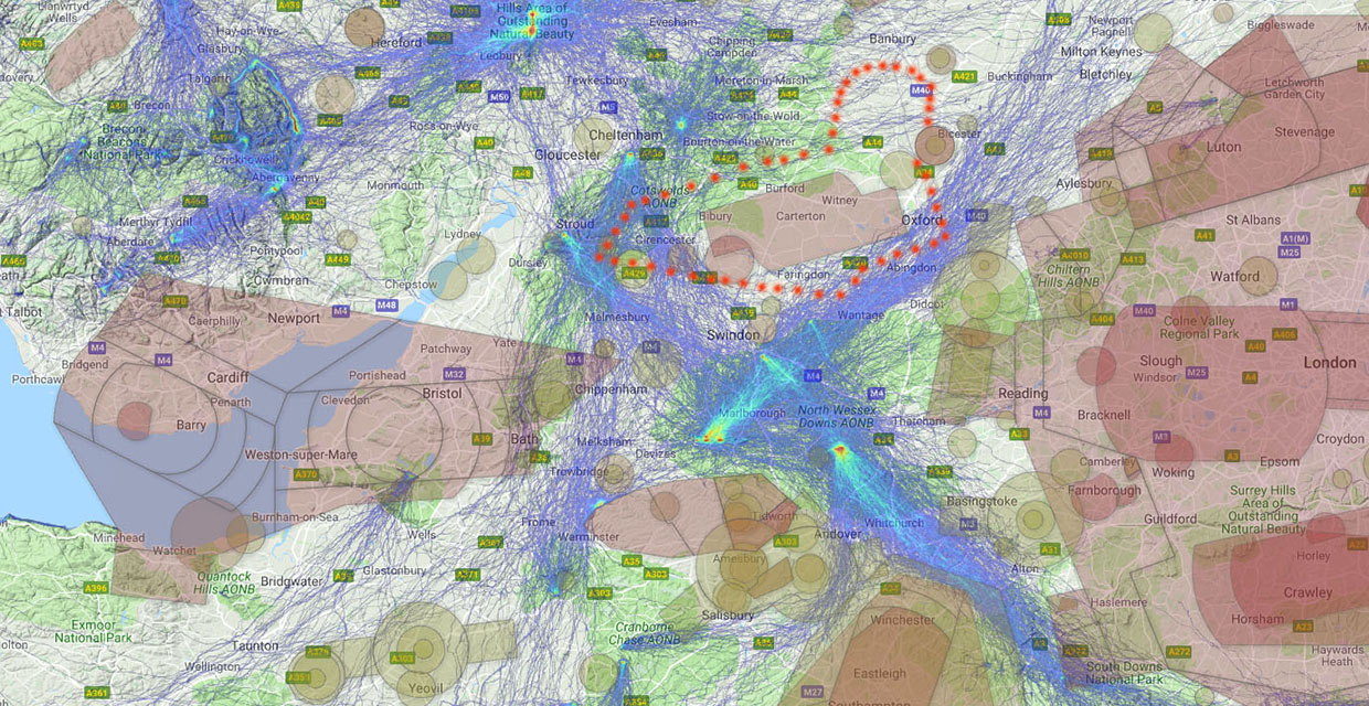 Enormous threat' to UK flying by airspace grab | Cross