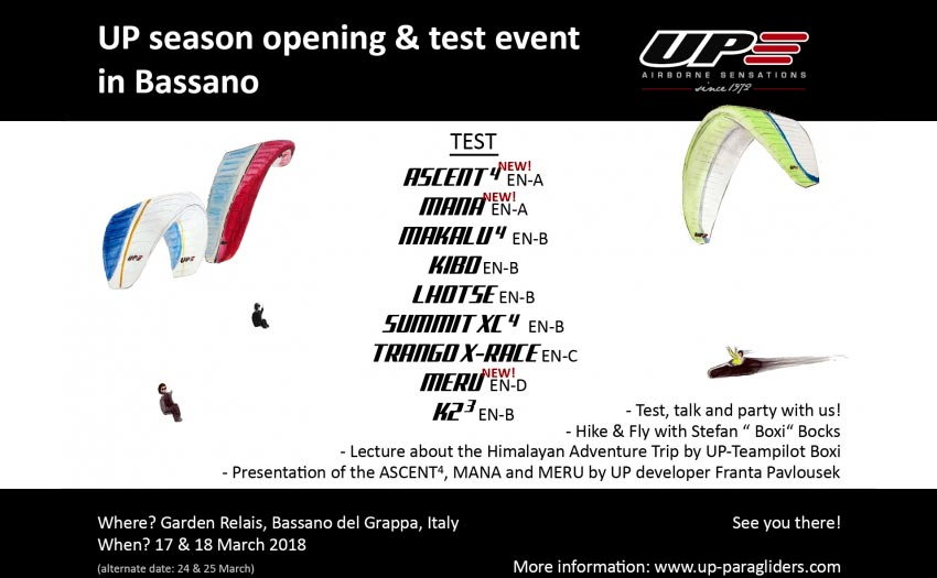 UP 2018 Season Opener Bassano