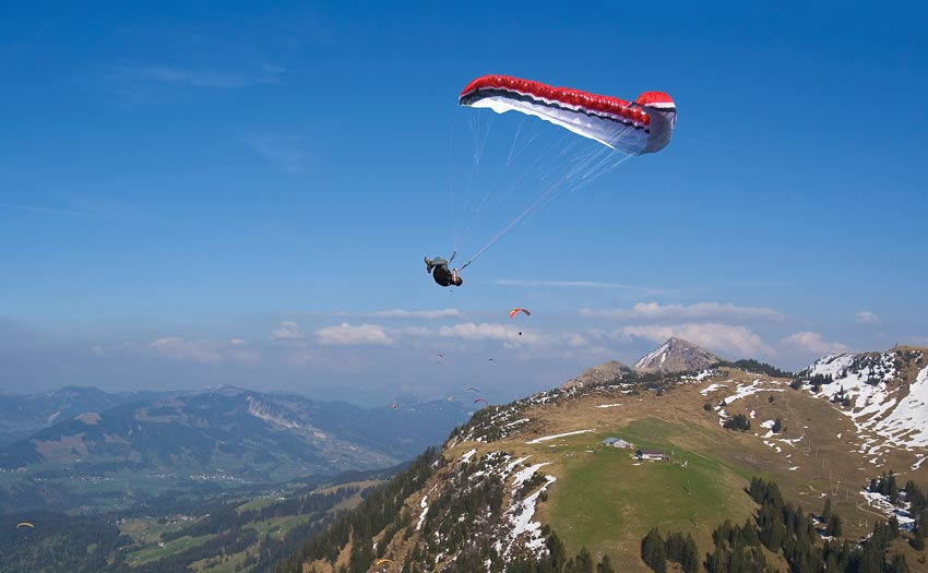 Paragliding SIV with Malin Lobb