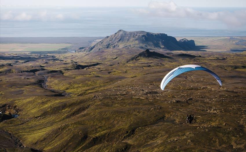 Paramotoring in Iceland