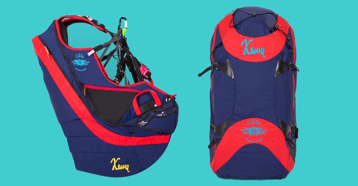 Icaro Xema reversible harness