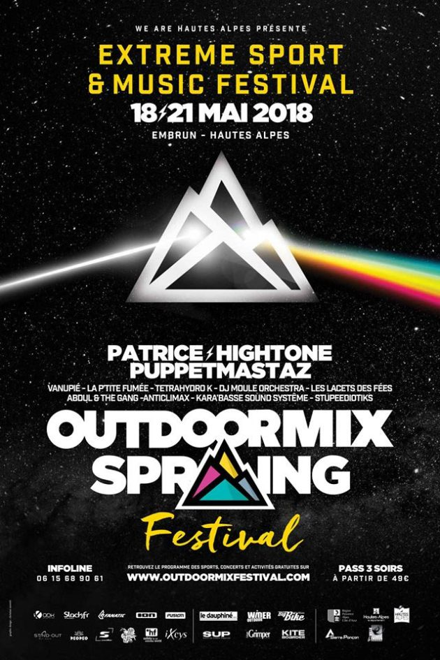 Outdoormix Festival 2018 @ Embrun | Provence-Alpes-Côte d'Azur | France