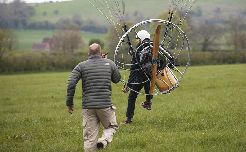 Paramotor tuition and teaching