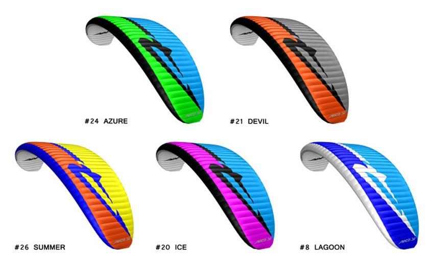 Apco Lift EZ range colours