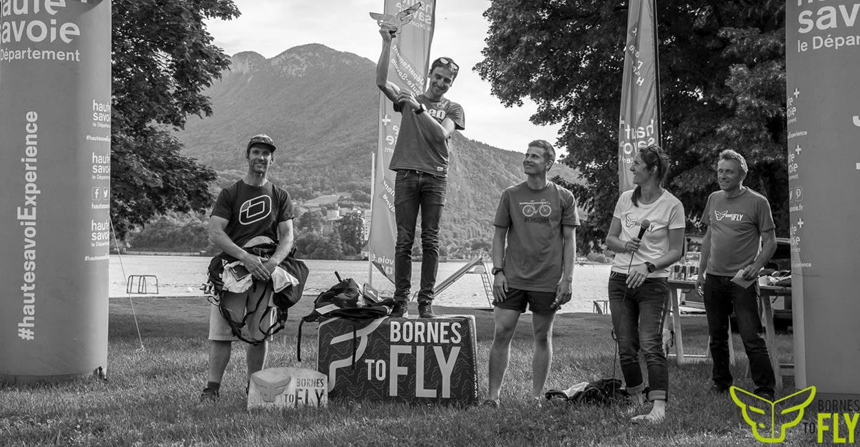 Bornes to Fly 2018 podium