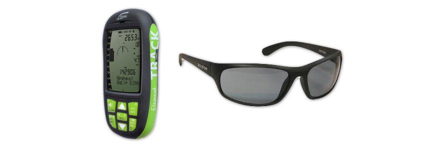 Flytec Element and Velodrom glasses