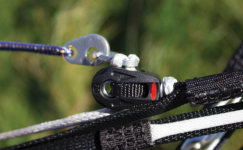 Dudek Optic 2 review: ball-bearing speedbar pulleys