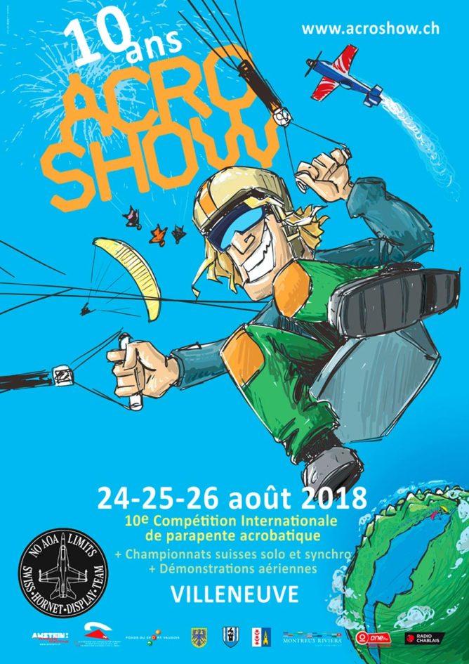 Sonchaux Acro Show 2018 @ Villeneuve | Vaud | Switzerland